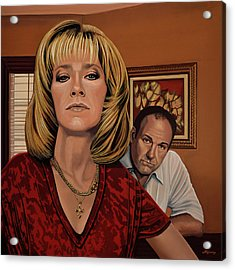 The Sopranos Painting Acrylic Print by Paul Meijering