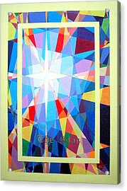The Star Acrylic Print by Thomas Campbell