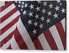 The Stars And Stripes Acrylic Print by Jerry McElroy