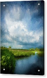 The Storm Acrylic Print by Marvin Spates