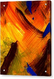 The Sunrise Of My Soul  Acrylic Print by Kimanthi Toure