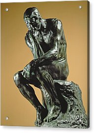 The Thinker Acrylic Print by Auguste Rodin