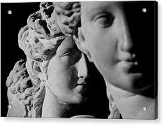 The Three Graces Acrylic Print by Roman School