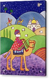 The Three Kings Acrylic Print by Cathy Baxter