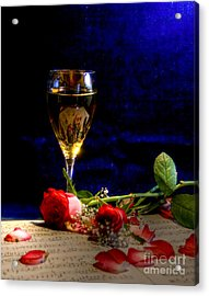 The Toast Acrylic Print by Sophie De Roumanie