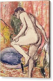 The Toilet Acrylic Print by Edgar Degas