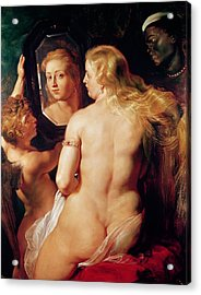 The Toilet Of Venus Acrylic Print by Peter Paul Rubens