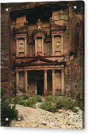 The Treasury Petra Acrylic Print by Celestial Images