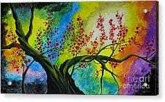 The Tree Acrylic Print by Betta Artusi