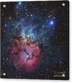 The Trifid Nebula Acrylic Print by R Jay GaBany