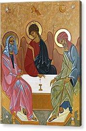 The Trinity Of Unity Acrylic Print by Joseph Malham
