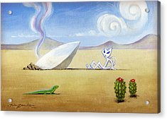 The Truth About Roswell Acrylic Print by John Deecken