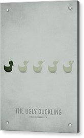 The Ugly Duckling Acrylic Print by Christian Jackson
