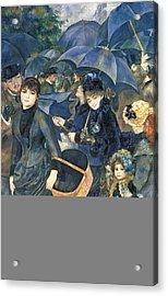 The Umbrellas Acrylic Print by Pierre Auguste Renoir
