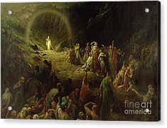 The Valley Of Tears Acrylic Print by Gustave Dore