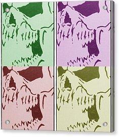 The Vampire Skeleton Acrylic Print by Robert Margetts