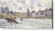 The Village Of Lavacourt Acrylic Print by Claude Monet