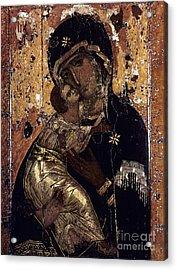 The Virgin Of Vladimir Acrylic Print by Granger
