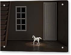 The Visit Acrylic Print by Jeff  Gettis