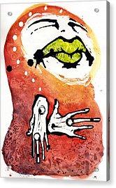 The Voice Acrylic Print by Mark M  Mellon