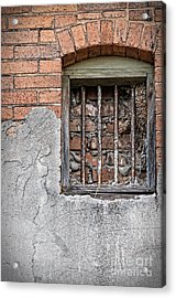 The Wall Within Acrylic Print by Charles Dobbs