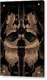 The Warrior Toned Acrylic Print by David Gordon