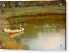 The Water's Edge Acrylic Print by Lori  McNee