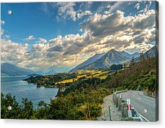 The Way To Glenorchy Acrylic Print by James Udall