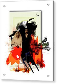 The Wedding Picture Acrylic Print by Aniko Hencz