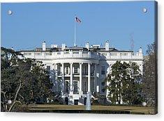 The White House - 1600 Pennsylvania Avenue Washington Dc Acrylic Print by Brendan Reals
