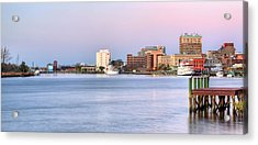 The Wilmington Skyline Acrylic Print by JC Findley