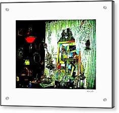 The Window Acrylic Print by YoMamaBird Rhonda