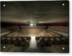 The Wine Temple Acrylic Print by Marco Romani