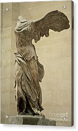 The Winged Victory Of Samothrace Acrylic Print by Chris  Brewington Photography LLC