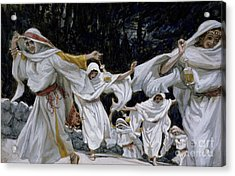 The Wise Virgins Acrylic Print by Tissot