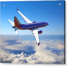 The Wonder Of Flight Acrylic Print by Garland Johnson