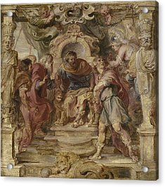 The Wrath Of Achilles Acrylic Print by Peter Paul Rubens
