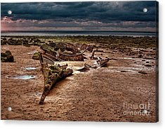 The Wreck Of The Sheraton Acrylic Print by John Edwards