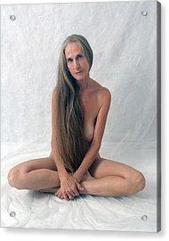 The Yogi Acrylic Print by N Taylor