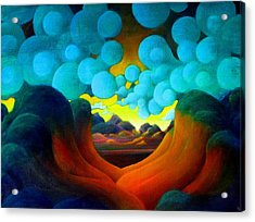 There Was Magic In The Air Acrylic Print by Richard Dennis