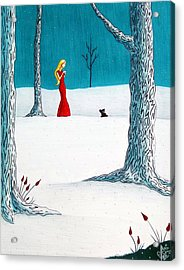 There's Always Hope Acrylic Print by Danielle R T Haney