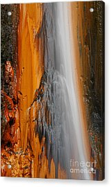 Thermal Waterfall Acrylic Print by Gaspar Avila