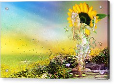 They Call Me Summer Acrylic Print by Mary Hood