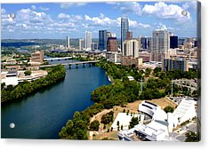 This Is Austin Acrylic Print by James Granberry