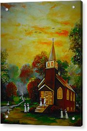 This Sunday Acrylic Print by Emery Franklin