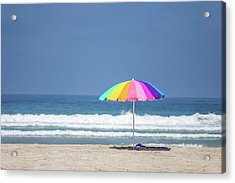 This, This Is Summer Acrylic Print by Peter Tellone