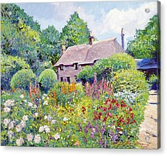 Thomas Hardy House Acrylic Print by David Lloyd Glover