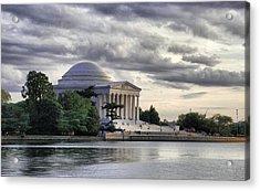 Thomas Jefferson Memorial Acrylic Print by Gene Sizemore