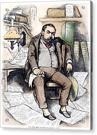 Thomas Nast (1840-1902) Acrylic Print by Granger