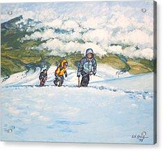 Three Amigos Acrylic Print by Erik Schutzman